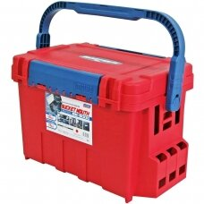 MEIHO BUCKET MOUTH RED BM-9000-R