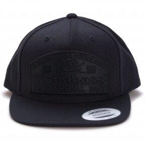 MEGABASS CAP PSYCHIC SNAPBACK BLACKOUT