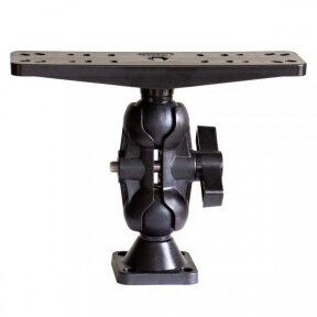 """SCOTTY 173 2 1/4"""" BALL MOUNT WITH FISH FINDER PLATE"""