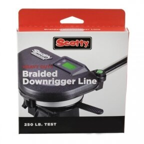 Scotty 2200K 250lb. test – Heavy Duty Braided Downrigger Line – 200 ft